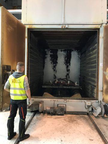 Meier AHT 3200-GK Gas Kammerofen 200°C Brennofen Härteofen Ofen neu revidiert – Bild 3