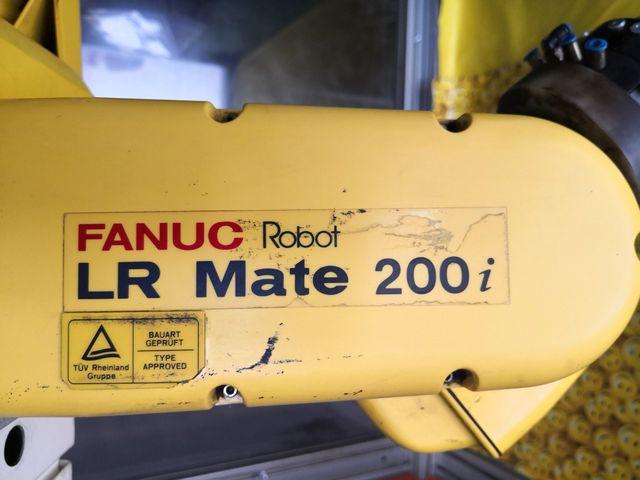 FANUC LR Mate 200i Automatisierungsroboter Industrieroboter Roboter + Steuerung – Bild 4