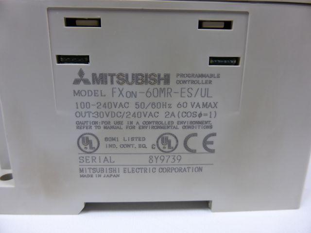 Mitsubishi Melsec FXon-60MR-ES Netztteil Stromversorgung SPS Steuerung – Bild 5