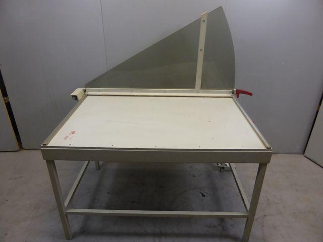 Ideal 1110 Hebelschneider Schneidemaschine Hebelschneidemaschine A3  – Bild 1