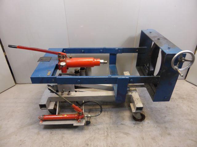 Horizontale Hydraulische Auspressmaschine Auspresswerkzeug Abziemaschine  – Bild 2