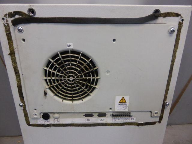 Rittal SK 3304100 Schaltschrank Kühlgerät Klimagerät 600 m³/h, 230 V AC, 1000W  – Bild 7