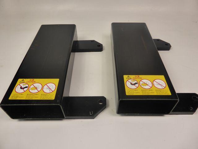 Gabelstapler Stapler Gabelzinken Universal Einfahrtaschen Nachrüstsatz Metall  – Bild 1