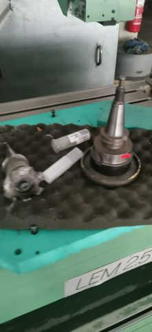 FPT LEM 2,5 EX CNC Bettfräsmaschine Fräse Metallfräse Fräsmaschine – Bild 12