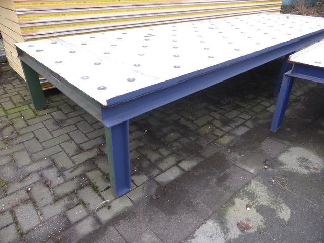 O.D.S Kugelrollen Transfertisch Kugeltisch Rollenbahn Rollentisch 420x140x60cm – Bild 2