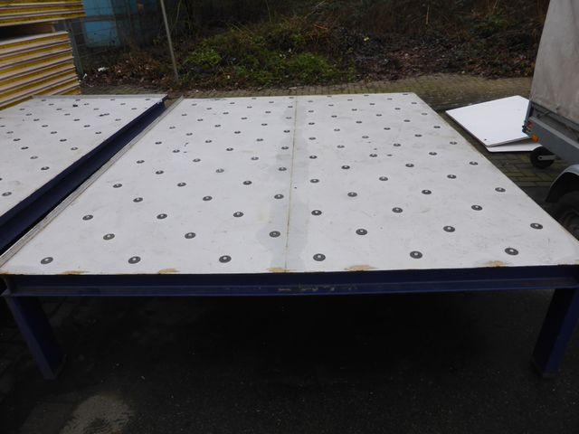 O.D.S Kugelrollen Transfertisch Kugeltisch Rollenbahn Rollentisch 280x220x60cm – Bild 1