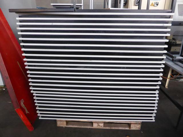 Tisch Metallgestell Pausentisch Konferrenztisch Schreibtisch 160x80x71 cm – Bild 7