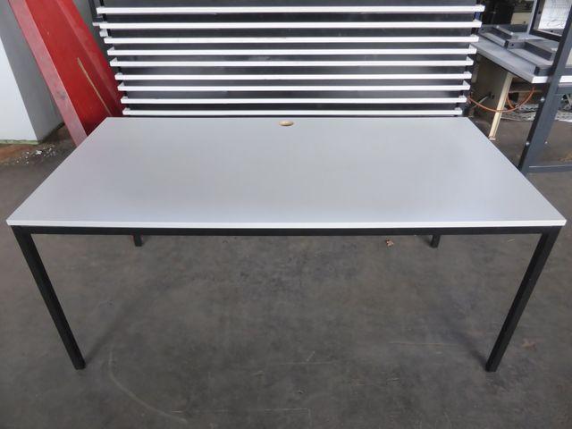 Tisch Metallgestell Pausentisch Konferrenztisch Schreibtisch 160x80x71 cm – Bild 2