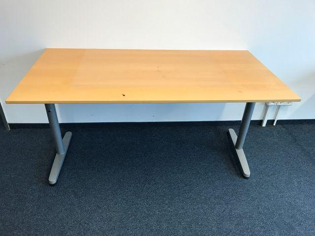 Ikea Galant Schreibtisch Tisch Bürotisch 160x80cm – Bild 1