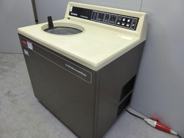 Beckman L7-55R Ultrazentrifuge Kühlzentrifuge Zentrifuge 55.000 UpM – Bild 2