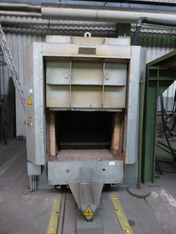 Nolzen LWSW 100/70/200 Industrieofen 750°C Härteofen Kammerofen Ofen – Bild 1