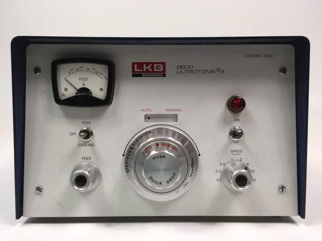 LKB Bromma 8800 Control Unit Ultrotome III Schneidesystem Ultramikrotomie  – Bild 2