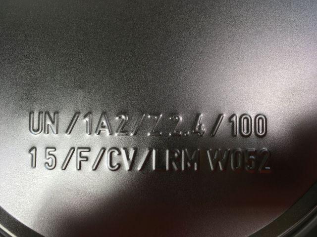 5x 6 Liter Eindrückdeckeleimer + Spannring Eimer Blecheimer Metalleimer  – Bild 4