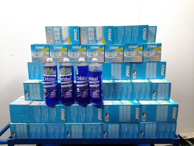 Posten 64 Teile Cristal Poolzubehör Härtestabilisator Kartuschenfilter Klareffekt  – Bild 4