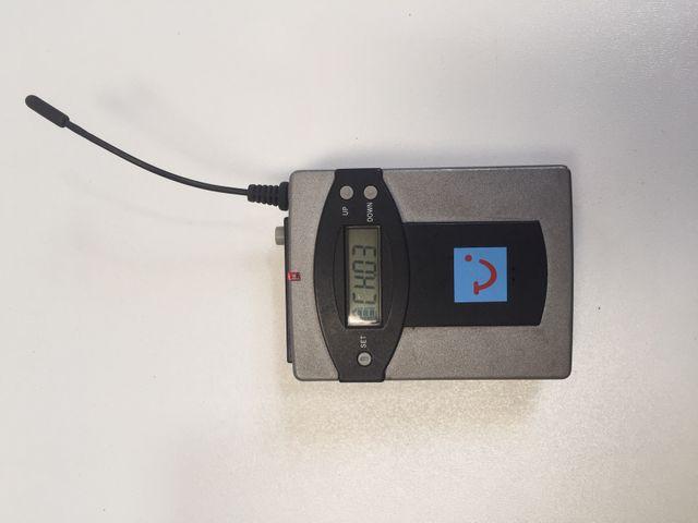 Reisebegleiter Bodypack pocket Receiver Transmitter Funkempfänger Funksender – Bild 1