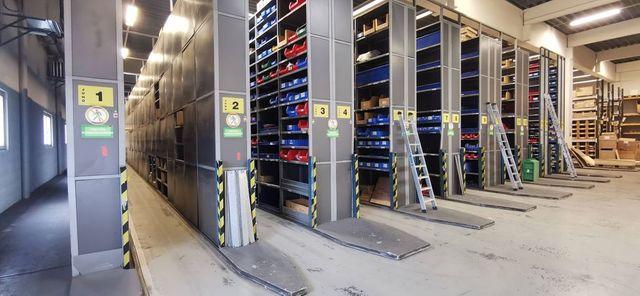 14,4m Dexion Schwerlastregal Palettenregal Lagerregal 3,5m x1,05m + Einlegeböden – Bild 9