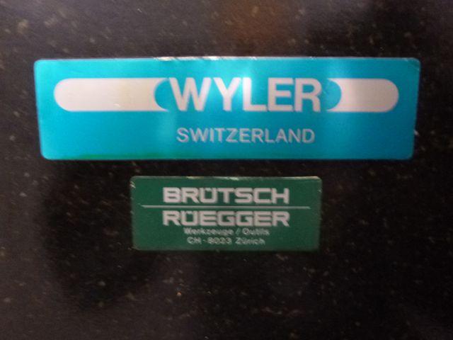 Wyler Meßplatte Granitplatte Kontrollplatte Anreißplatte 160x100x18cm – Bild 13