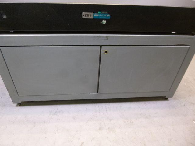 Wyler Meßplatte Granitplatte Kontrollplatte Anreißplatte 160x100x18cm – Bild 8