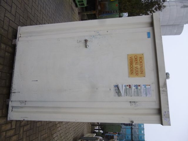 Hiltra Materialcontainer Gefahrstoffcontainer Lagercontainer 200x135x122cm – Bild 1