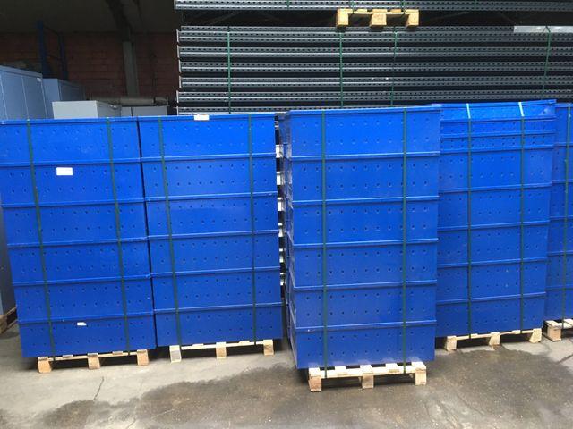 SSI Schäfer LW 336 Lagerwanne Regalkasten Lagerbox Stahlblech 980x335x120 mm – Bild 1
