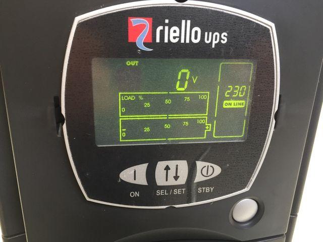 Riello UPS SDL 5000/6000 VA USV Notstromversorgung Sentinel Dual – Bild 7