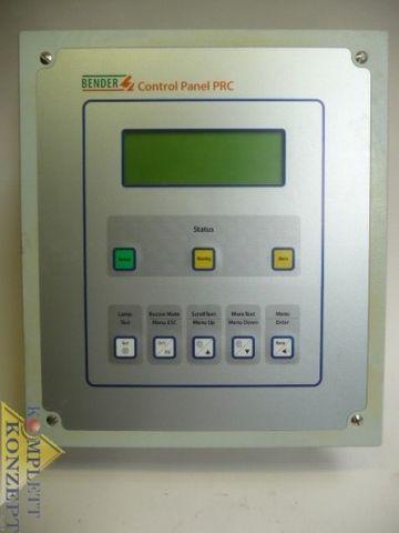 Bender PRC1470 Control Panel PRC Steuer und Anzeigegerät