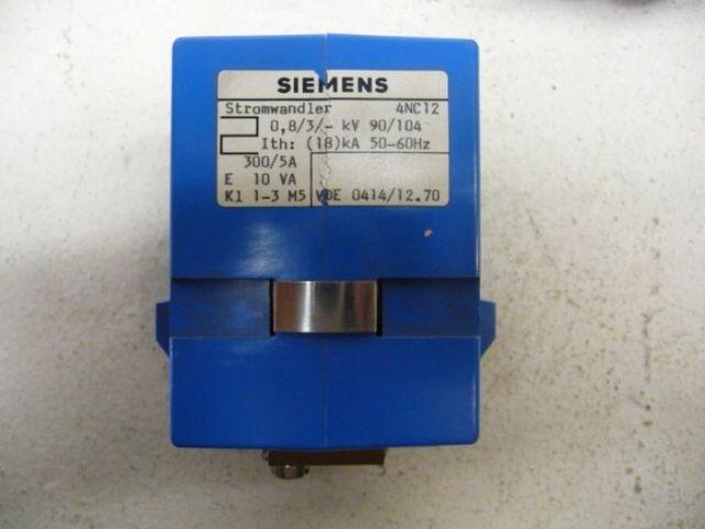 SIEMENS Stromwandler Stromumwandler 4NC12 300/5A