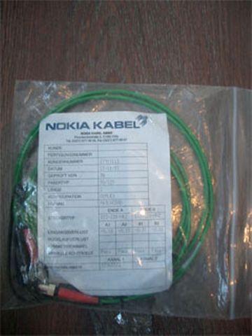 LWL Nokia Kabel Lichtwellenleiter SC Stecker 5 Meter – Bild 1