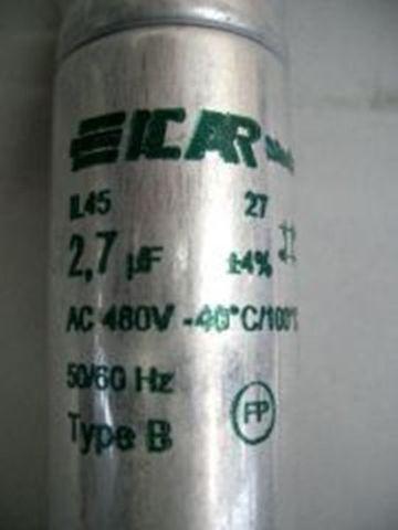 10 x Icar Kompensations Kondensator 2,7-2,9 µF – Bild 5