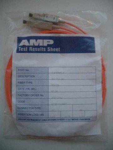 LWL AMP Kabel Lichtwellenleiter Sc Stecker 2 m