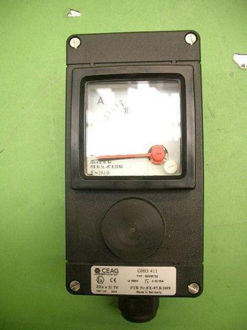 Amperemeter im EX Gehäuse Ceag GHG 411 – Bild 1