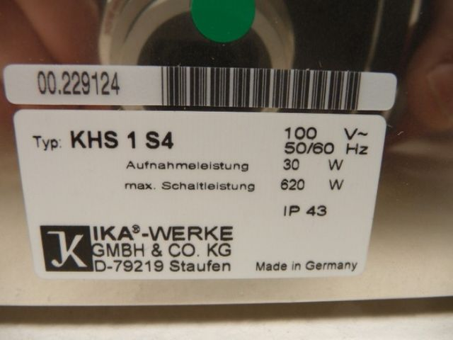 IKA KHS1 Kühlheizsteuerung – Bild 6