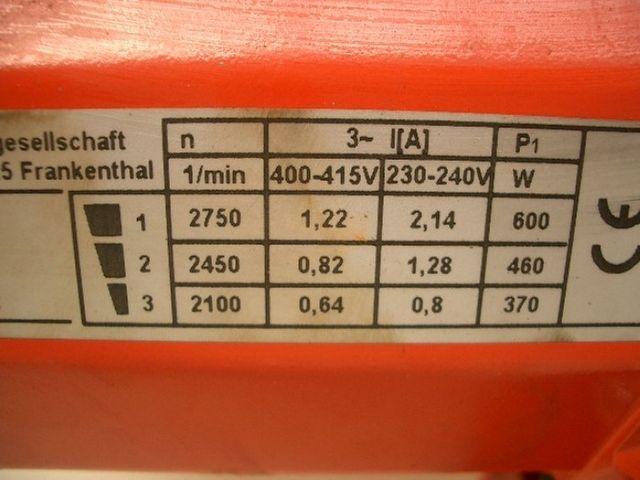 KSB Pumpe Riovar 65-70 D – Bild 3