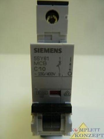 Siemens 5SY61 MCBC10 Leitungsschutzschalter Sicherung 5SY61MCBC10