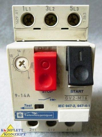SCHNEIDER ELECTRIC TELEMECANIQUE GV2-M16 TeSys D Motorschutzschalter
