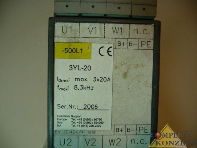 Motordrossel 3YL-20 Danaher Motion Motor Control Units – Bild 5