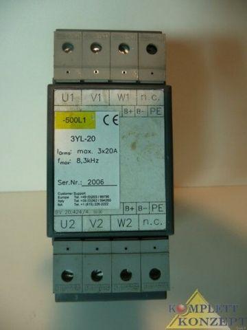 Motordrossel 3YL-20 Danaher Motion Motor Control Units – Bild 2