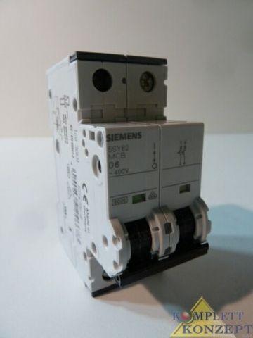 Siemens 5SY6 206-8 Leitungsschutzschalter Arbeitsstromauslöser