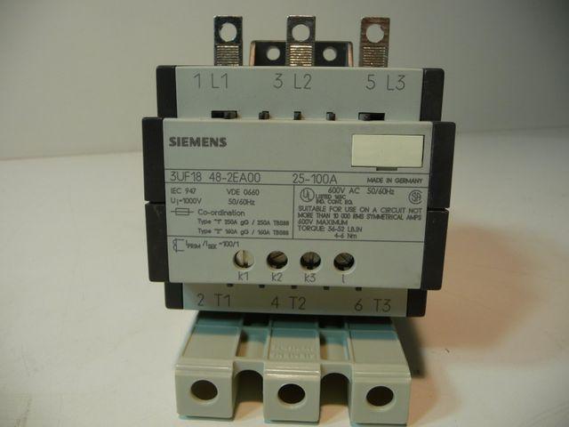 Siemens 3UF1848 2EA00 Stromwandler Wandler 25-100A – Bild 1