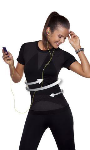 SCALA Sports Line Fitness Shirt figurbetonend Funktionswäsche A09407