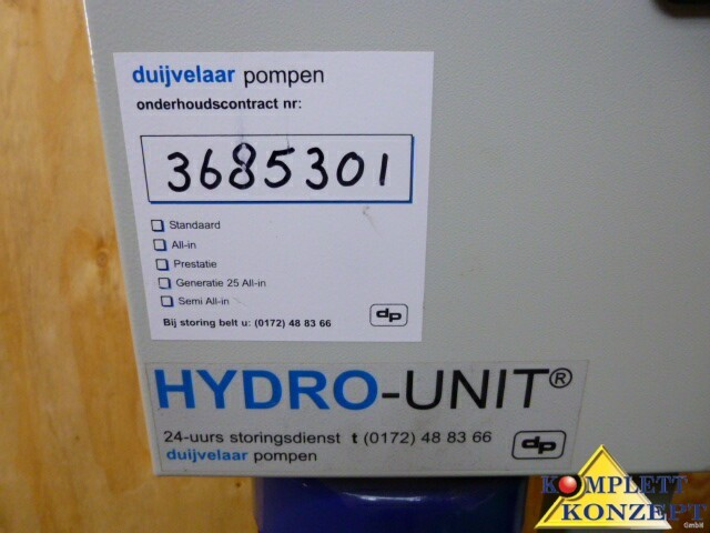Hydro-Unit HU3 DPVE4-60 MC-FR DOL, Wasserdruck Steigerung Wasserinstallationen – Bild 10