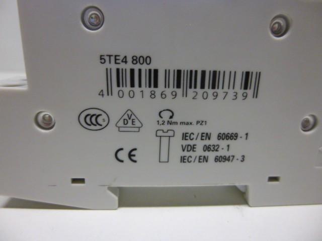 Siemens 5TT4 800 Taster 230 Volt – Bild 3