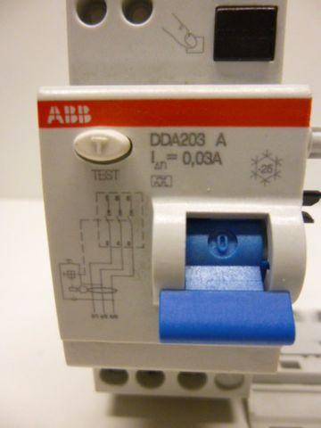 ABB DDA 203 A FI-Block FI-Schalter – Bild 2