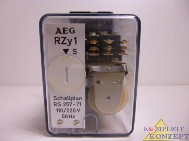 AEG RZy 1 Transistor Zeitrelais – Bild 2
