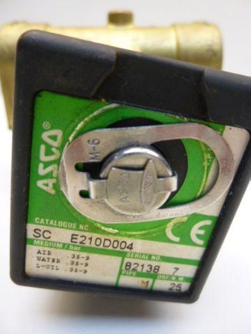 Asco SC E210D004 Magnetventil Ventil 24V – Bild 2