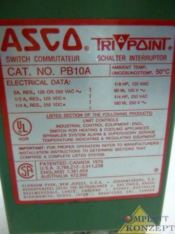ASCO PB10A Druckwächter Druckschalter Trockenlaufschutz – Bild 2