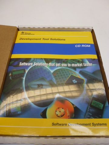 Texas Instruments TMS470R1x Microprocessor Development System Software – Bild 1