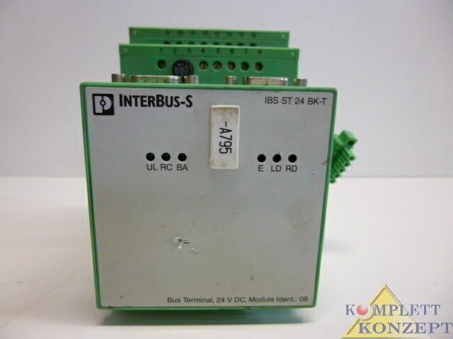 Phoenix Contact Interbus-S IBS ST 24 BK-T Bus Terminal Busklemme