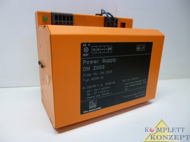 ifm electronic ND90-10 Power Supply Netzteil – Bild 2