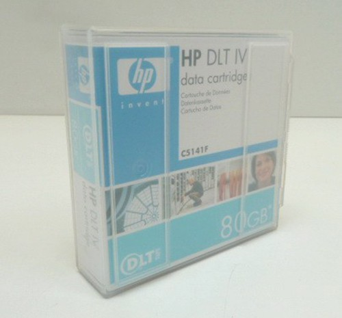 7x HP DLT IV Datenkassette 80 GB Data Cartidge